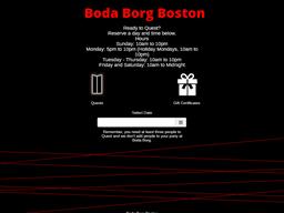 Boda Borg gift card purchase