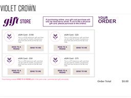 Violet Crown Austin Cinema gift card purchase
