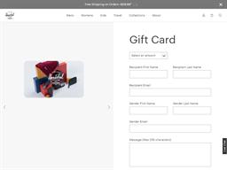 Herschel Supply Co. gift card purchase