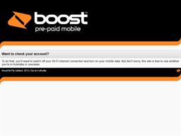 Boost Mobile gift card balance check