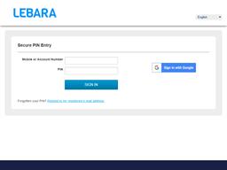 Lebara gift card balance check