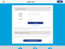 ALDI Mobile gift card balance check