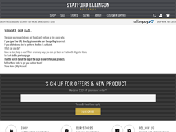 Stafford Ellinson gift card purchase