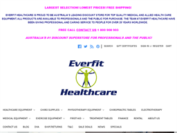 Everfit Healthcare shopping