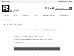 Rundies gift card balance check