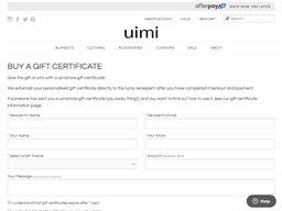 uimi gift card purchase
