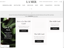 La Mer gift card purchase