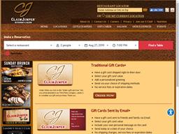 Claim Jumper Restaurants gift card purchase