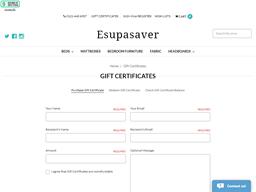 Esupasaver gift card purchase