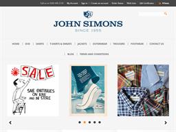 John Simons shopping