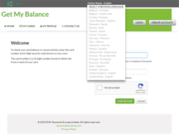 Salisbury Gift Card gift card balance check
