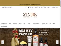 Shea Terra Organics shopping