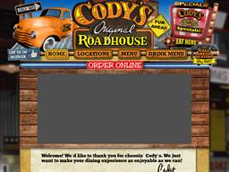 Codys Original Roadhouse shopping