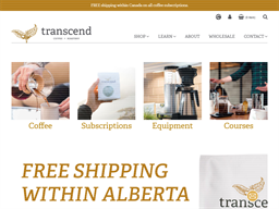 Transcend Coffee shopping