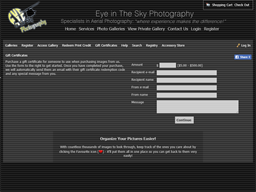 Eye in the Sky gift card purchase