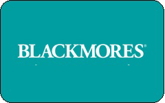 Blackmores gift card purchase
