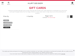 Kurt Geiger gift card purchase