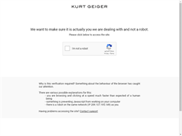 Kurt Geiger shopping