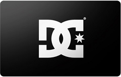 DC Shoes gift card purchase