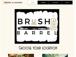 Brush & Barrel Studio shopping