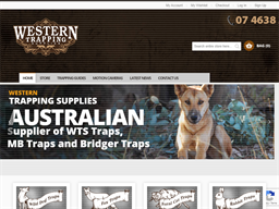 Western Trapping Supplies shopping
