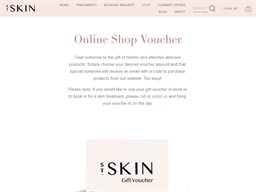St. Skin gift card purchase