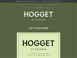 Hogget Kitchen gift card purchase