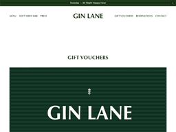 Gin Lane gift card purchase