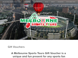 Melbourne Sports Tours gift card balance check