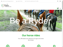 Ryders Horse Riding Tours shopping