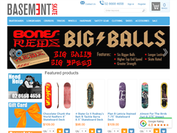 Basement Skate Shop shopping