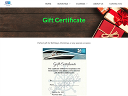 Goldcoast Boat Licences gift card purchase