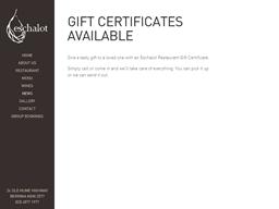Eschalot gift card purchase