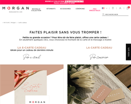 Morgan De Toi gift card purchase
