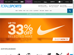 Totalsports shopping