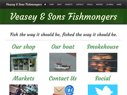 Veasey & Sons Fishmongers shopping