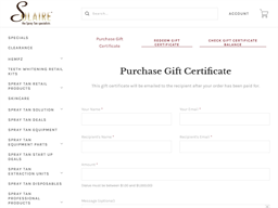 Solaire gift card purchase