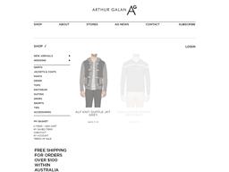Arthur Galan AG online shopping