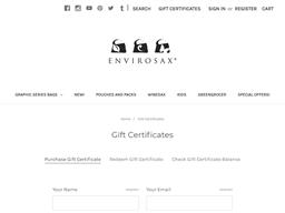 Envirosax gift card purchase