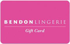 Bendon Lingerie gift card design and art work