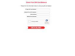 Domino's gift card balance check