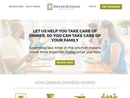 Dream Dinners shopping
