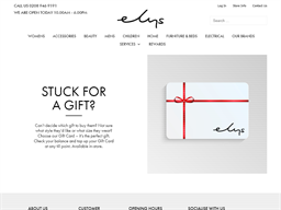 Elys Of Wimbledon gift card purchase