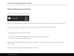 Matches Fashion gift card purchase