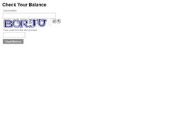 Duke's Chowder House gift card balance check