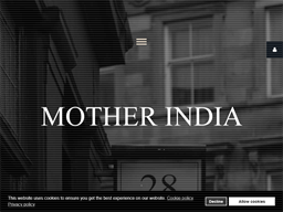 Mother India shopping