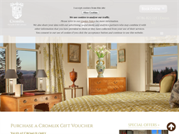 Cromlix Hotel gift card purchase