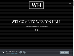 Weston Hall shopping