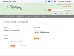 Wigwam gift card purchase