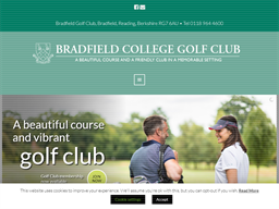 Bradfield Golf Club shopping